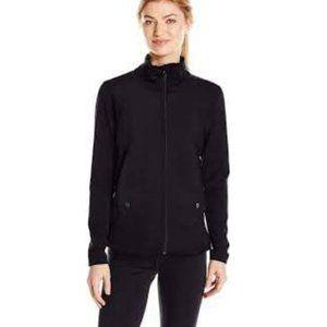 Lole Black Salma Studio Full Zip Workout Jacket
